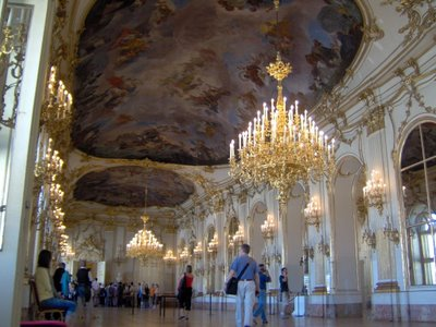 photos of schonbrunn palace gardens and interior exterior in vienna austria