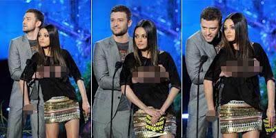 Justin Timberlake Raba Dada Mila Kunis
