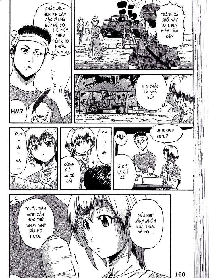Gate – Jietai Kare no Chi nite, Kaku Tatakeri chap 7 Trang 18 - Mangak.info