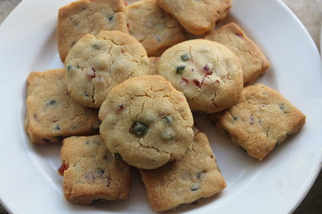 Easy Atta Butter Cookies Recipe - Eggless Whole Wheat Butter Cookies Recipe