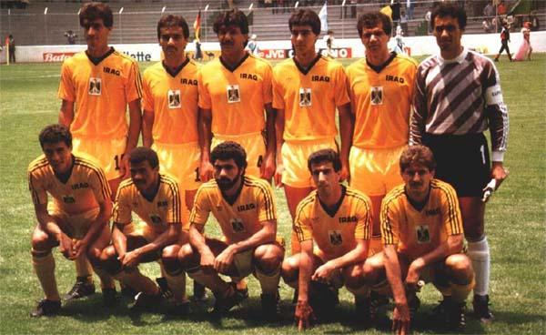 Old school panini mexico 86 pr sentation de l 39 irak - Coupe du monde mexique 1986 ...