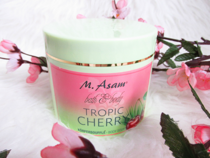Review: M. Asam Tropic Cherry - Körpersoufflé - 500ml - 19.75 Euro