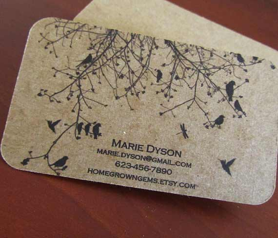 30+ Eco-Friendly Recycled Paper Business Card Designs - Jayce-o-Yesta