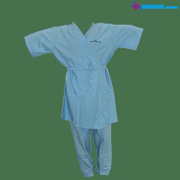 Baju + Celana Pasien Rumah Sakit