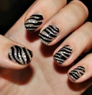 animal print sare na noktima 2