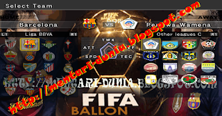 Download Update pemain terbaru pes 6 musim 2013/2014 full transfer