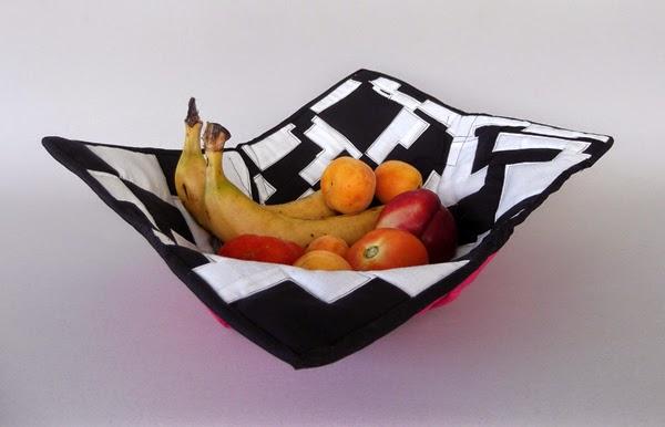 fabric bowl, textile bowl