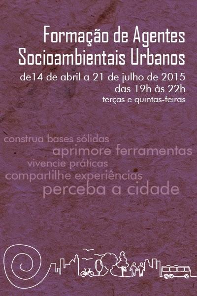Formação de agentes socioambientais urbanos