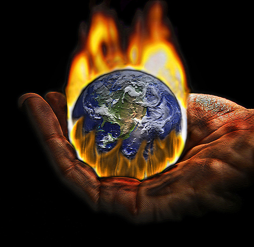 global warming a threat to mankind Opinions expressed by forbes  that scientific global warming  the theory of mankind's increased co2 output is responsible for.