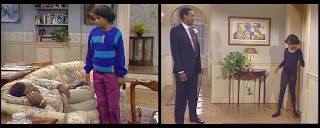 Huxtable Hotness The Cosby Show Season 1 Episode 2 Cliff Vanessa Bill Cosby Tempestt Bledsoe