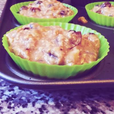 Single Mother Ahoy fruity breakfast muffins