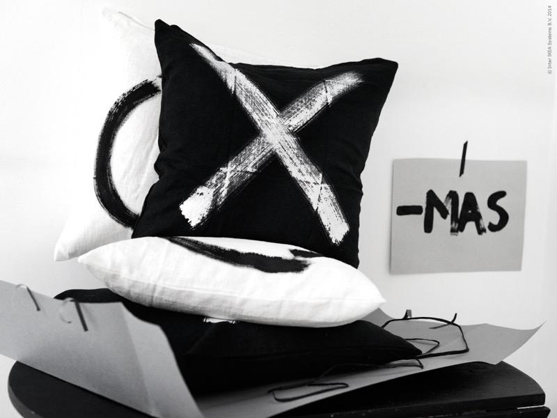 x-mas diy pillows