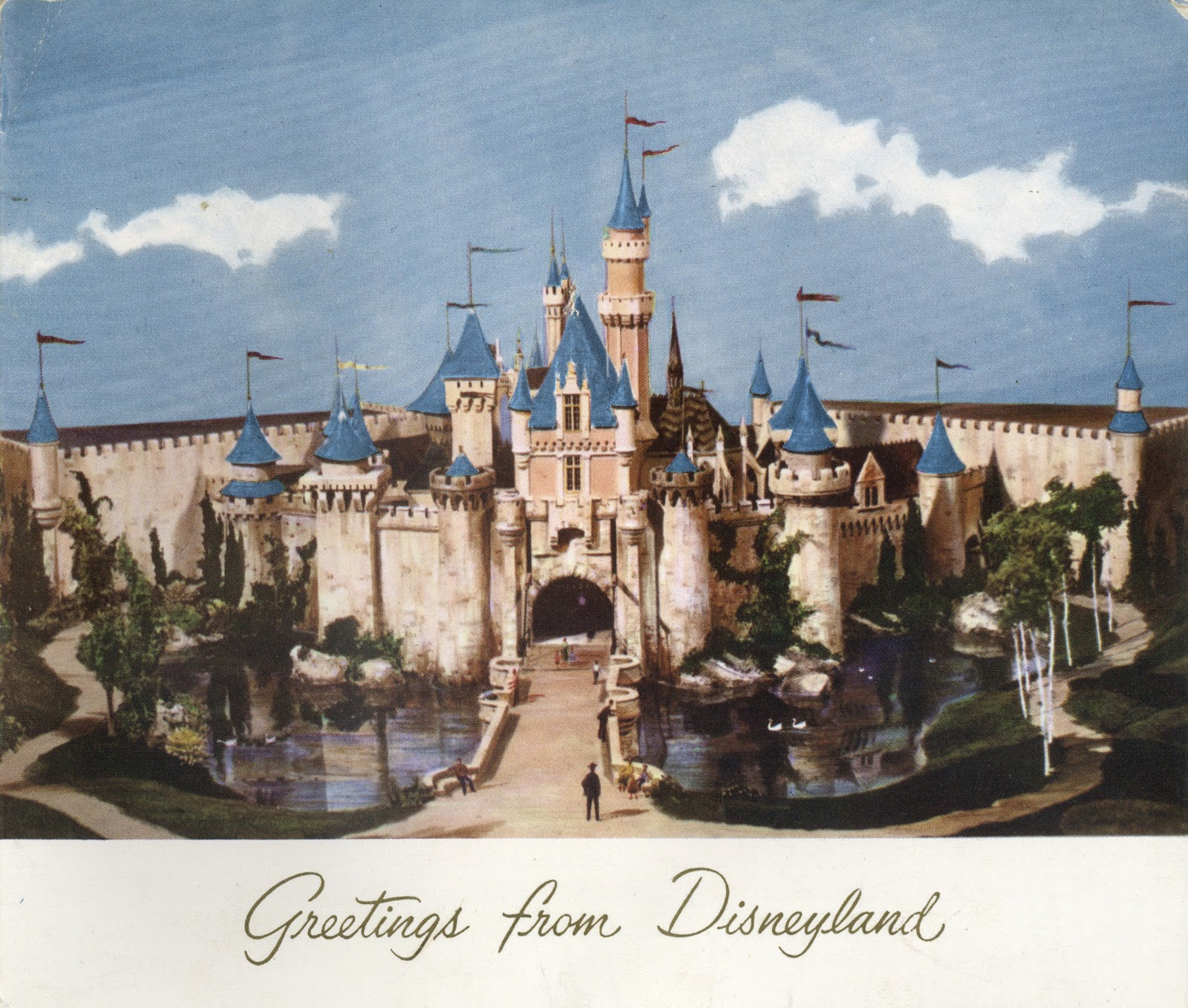 Vintage disneyland tickets greetings from disneyland gibson card greetings from disneyland gibson card september 1955 m4hsunfo Choice Image