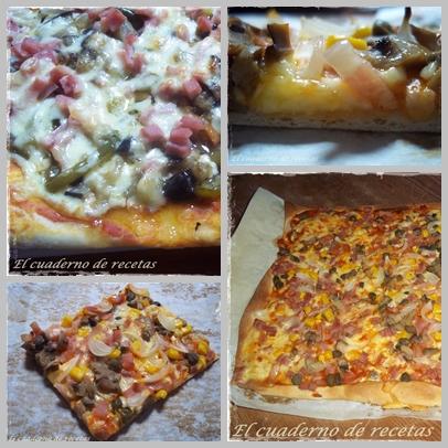 Pizza Con Masa De Cerveza.