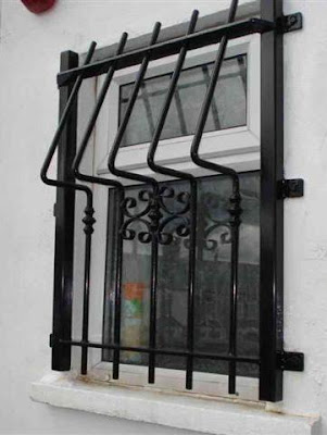 New home designs latest home window iron grill designs for Window design grill photos