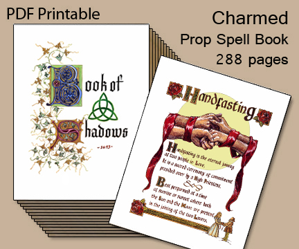 photo regarding Printable Spell Book Pages named Quirky Artist Loft: 2 Printable Spell Textbooks