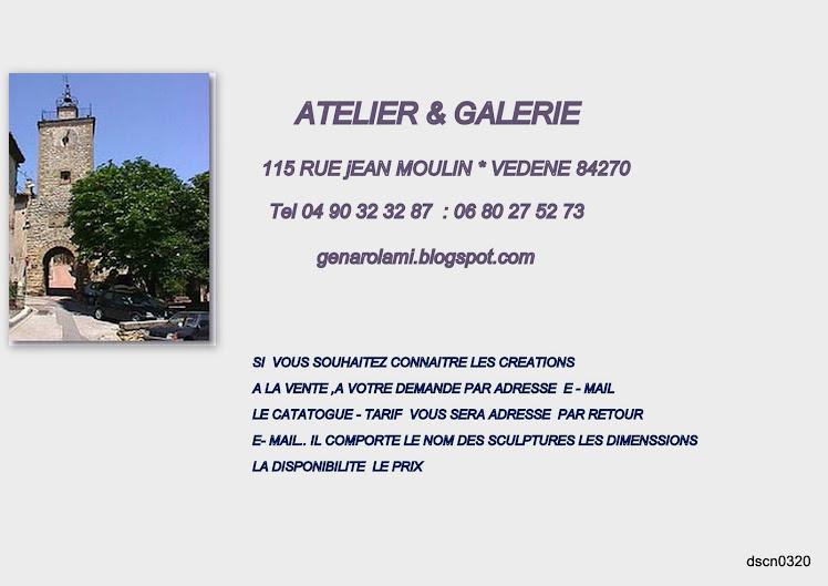ATELIER - GALERIE