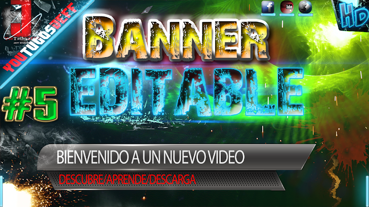 BANNER EDITABLE #5 CON AFTER EFFECTS CS6 | 2015