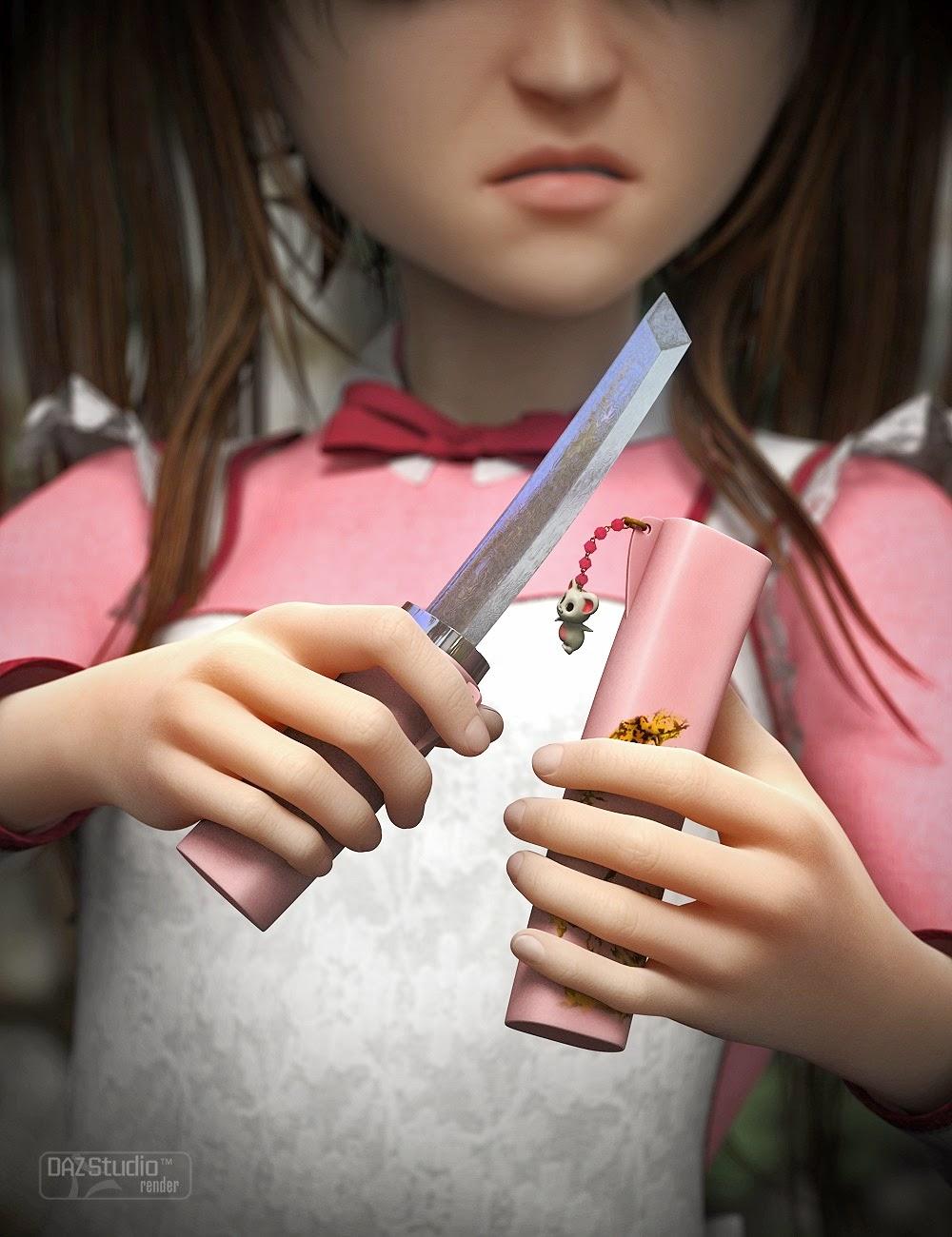 Anime Girl Accessoires pour Genèse 2 Femme