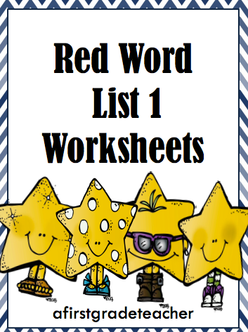 Worksheet Orton Gillingham Worksheets a first grade teacher orton gillingham red word worksheets worksheets