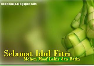 SMS Ucapan Selamat Idul Fitri 1433 H Terlengkap
