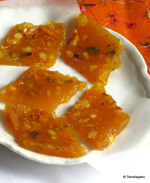 Orange Honey Halwa