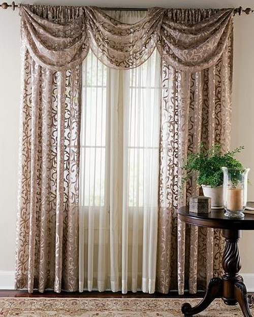 Any sort of trendy and matching curtains convert the lifeless room to ...