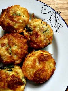 Eggy Puffs - Great for Baby Led Weaning