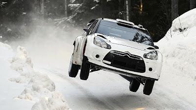 DS3 WRC derrape