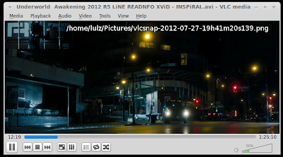 VLC take screenshot