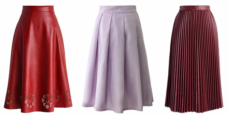 chicwish wishlist midi skirts