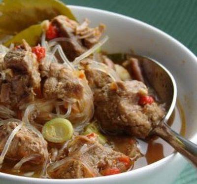 javanese delicious food Pekalongan Soto (Taoto)