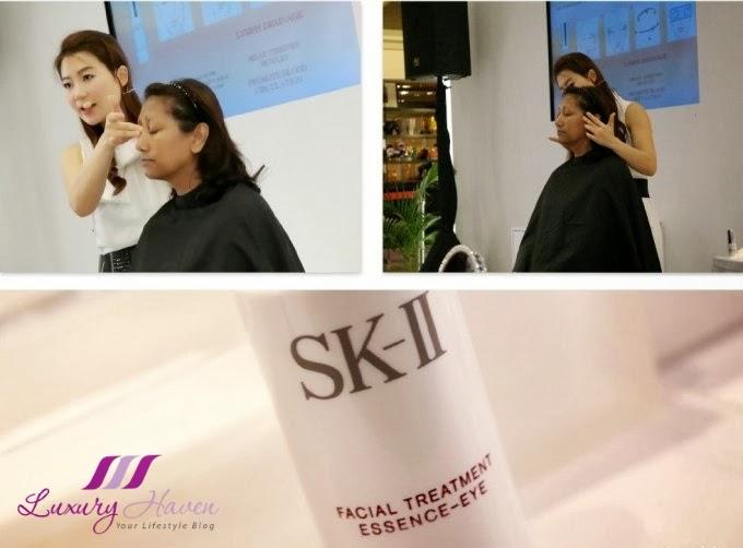 skii facial treatment essence eye review