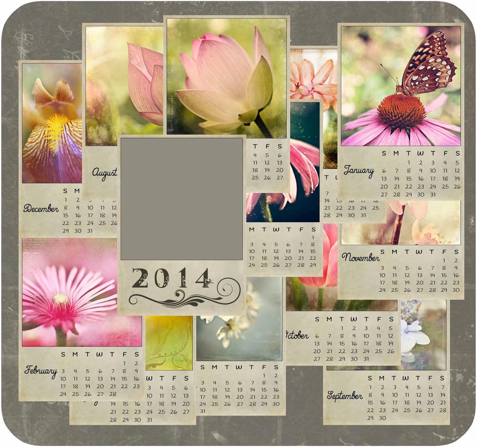 Calendar bundle 2014