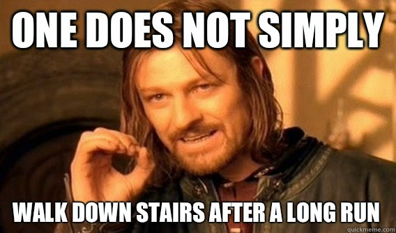 one does not simply meme running marathon training long run