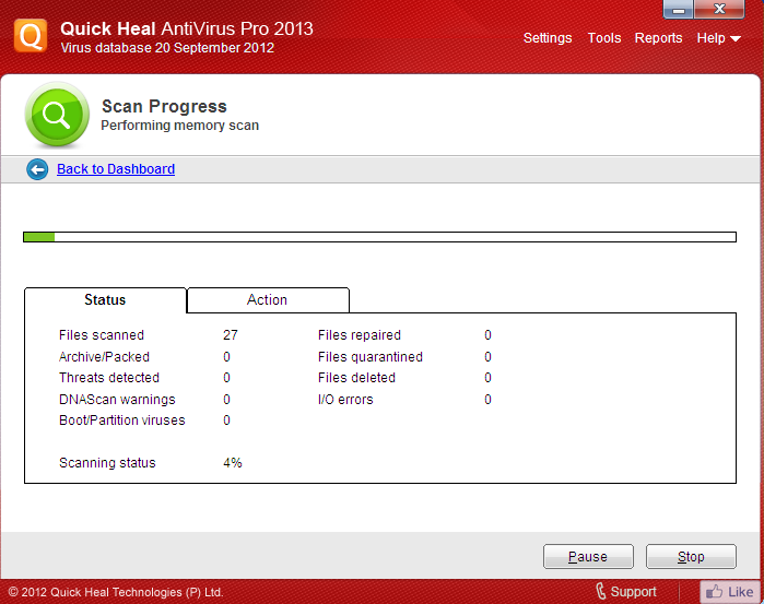 quick heal antivirus pro 2013 valid license keys free download