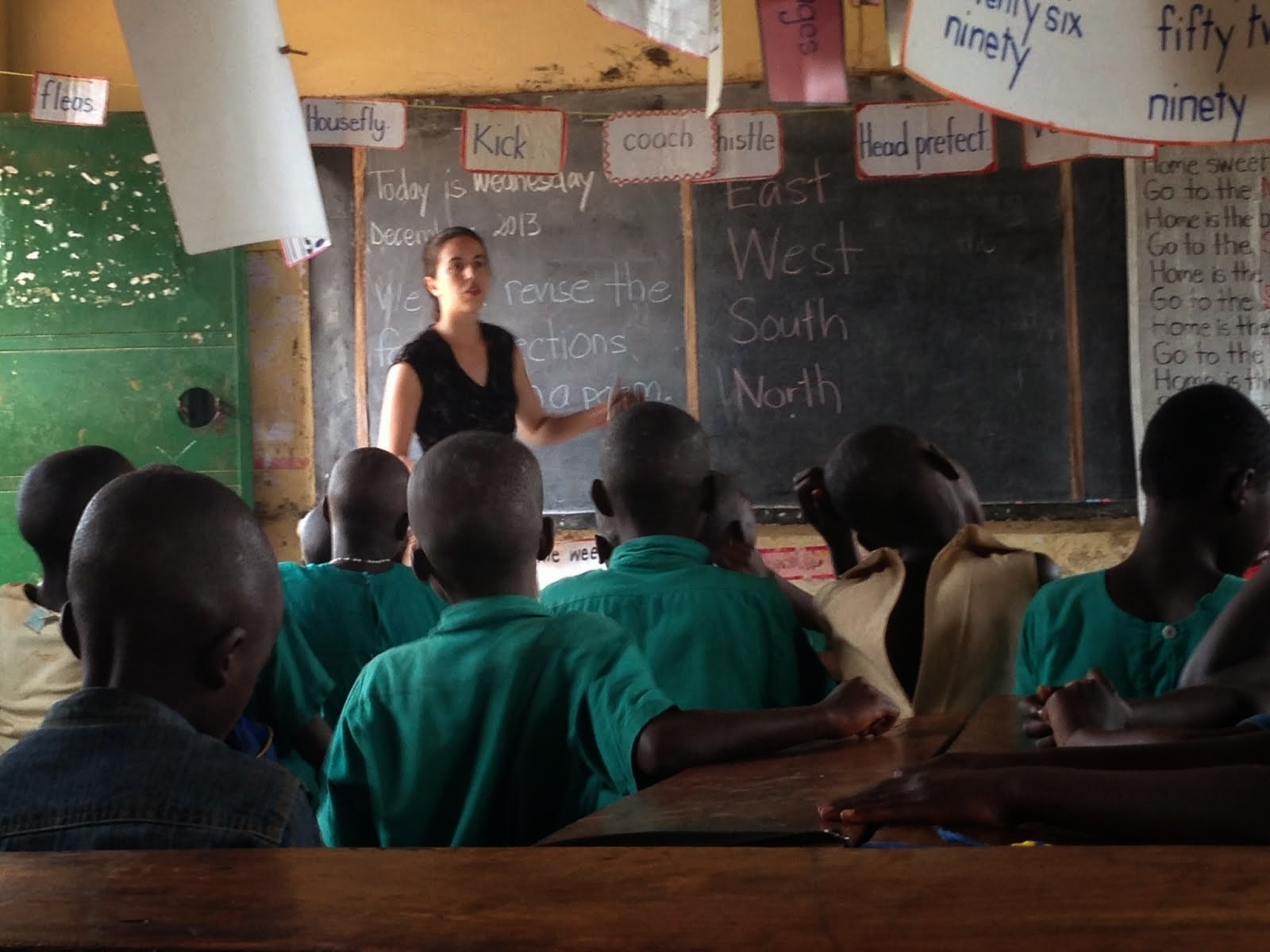 Peace Corps Education Volunteer, Uganda, 2013 - 2015
