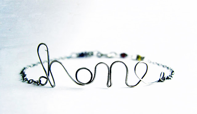 wire wrapped word tutorial bracelet jewelry how to