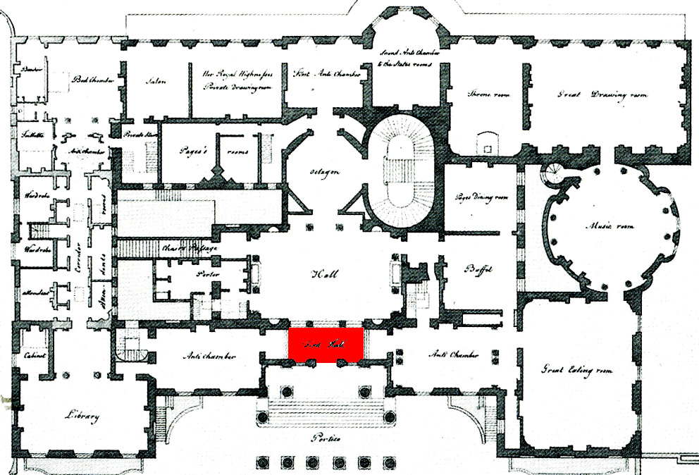 Image gallery holyrood palace floor plan for Palace plan