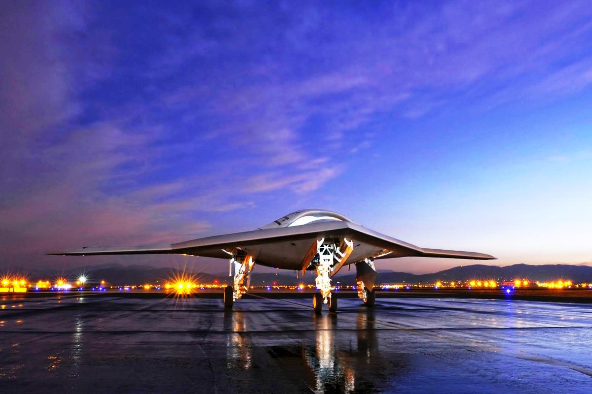 X-47B Jet Fighter UAV Wallpaper 1