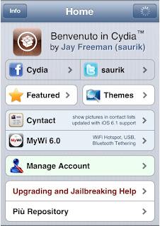 Install Cydia