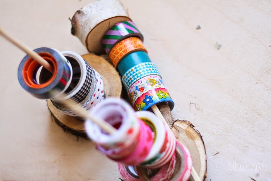 washi tape holder  by akwiinas