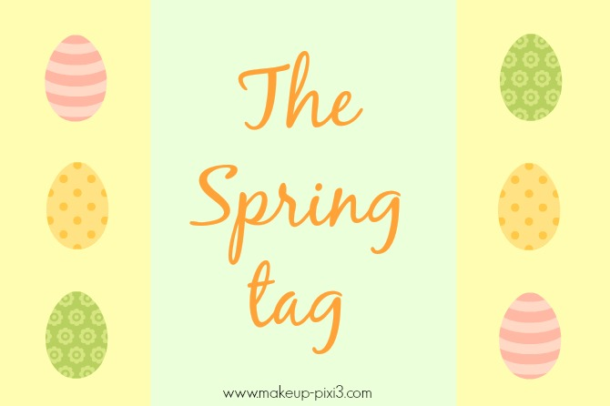 The Spring TAG created by Makeup-Pixi3