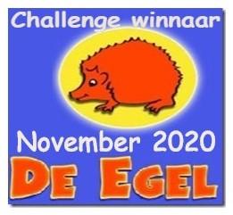 Winnaar De Egel challenge