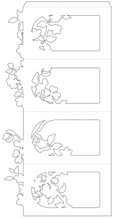 Бумажные фонарики своими руками шаблоны