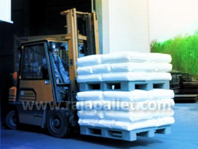 Pallet Plastik Material Handling Efektif Hasil Pertanian