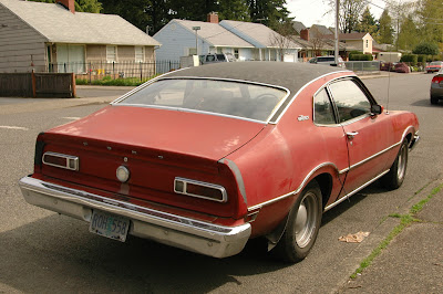 1976 Ford Maverick Fastback.