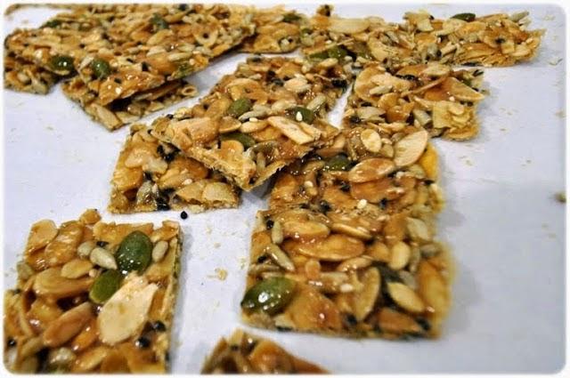 Resepi Crunchy Caramel Almond