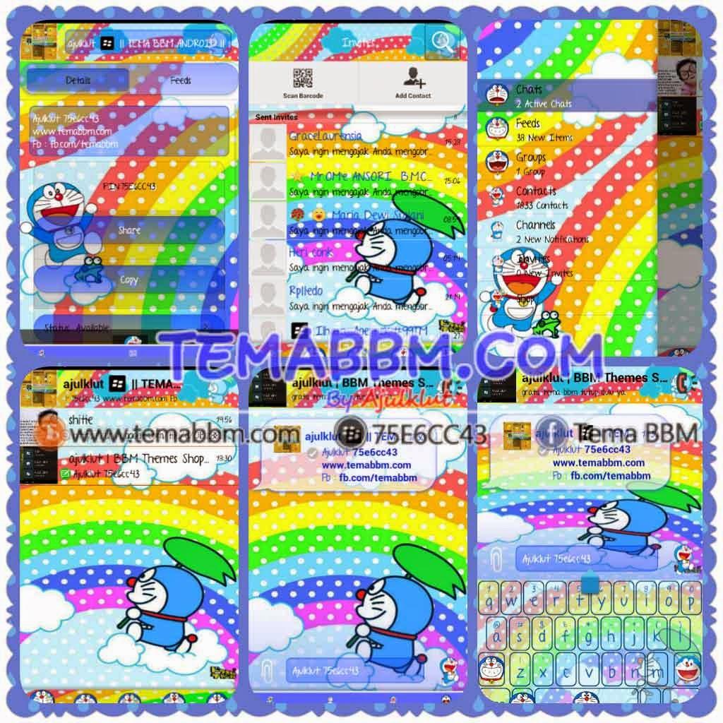 Tema BBM Doraemon