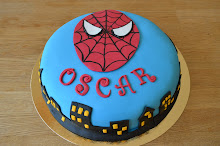 Spiderman eats cake for breakfast!